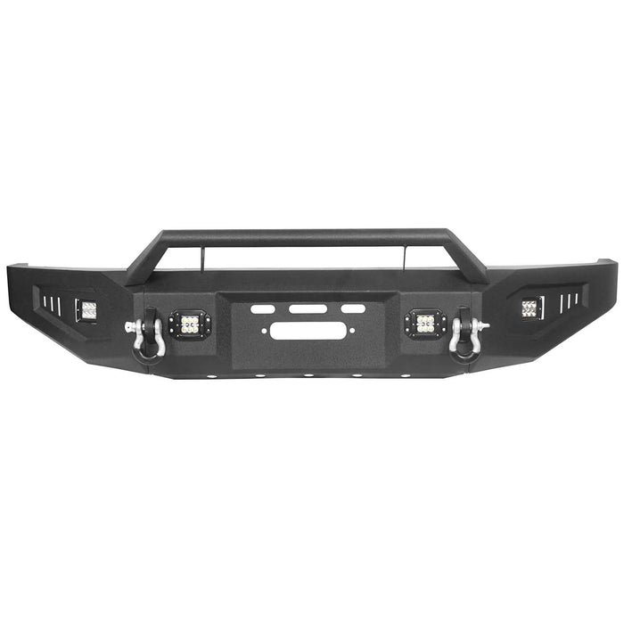 Hooke Road Toyota Tundra Front Bumper with Winch Plate for 2007-2013 Toyota Tundra u-Box Offroad BXG5205 8