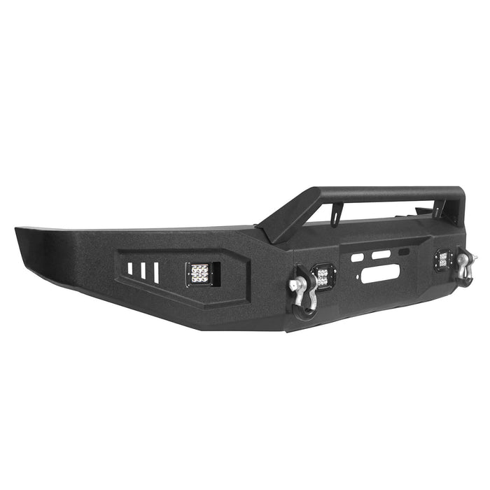 Hooke Road Toyota Tundra Front Bumper with Winch Plate for 2007-2013 Toyota Tundra u-Box Offroad BXG5205 9