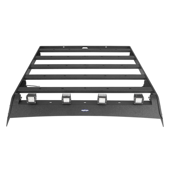 Hooke Road Tundra Roof Rack With Lights for 2007-2013 Toyota Tundra Crewmax Tundra Luggage Rack u-Box Offroad BXG5202 7