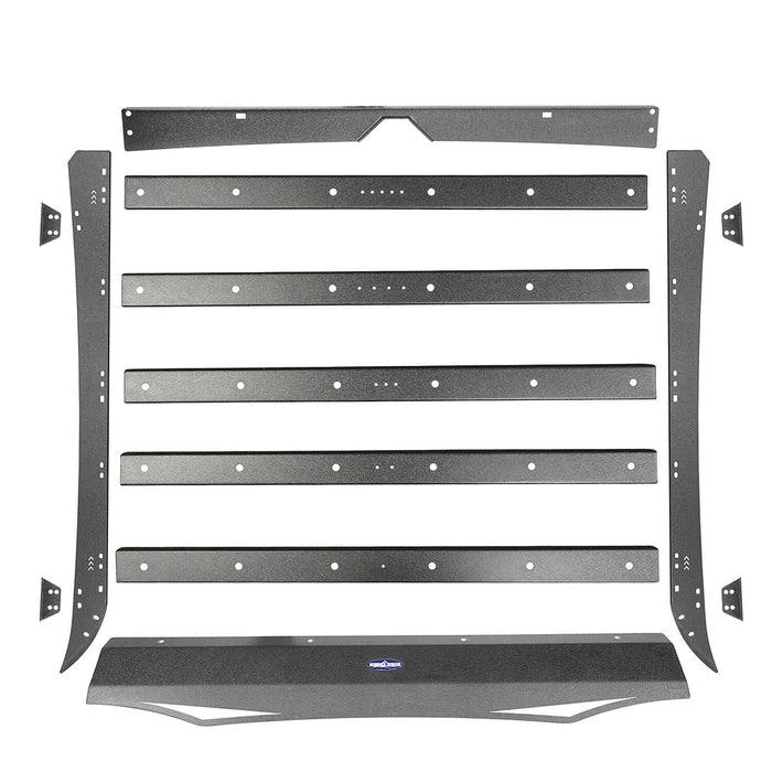 U-box Truck Toyota Tundra Crewmax Roof Rack Cargo Carrier for 2014-2019 Toyota Tundra BXG605 u-Box Offroad 12