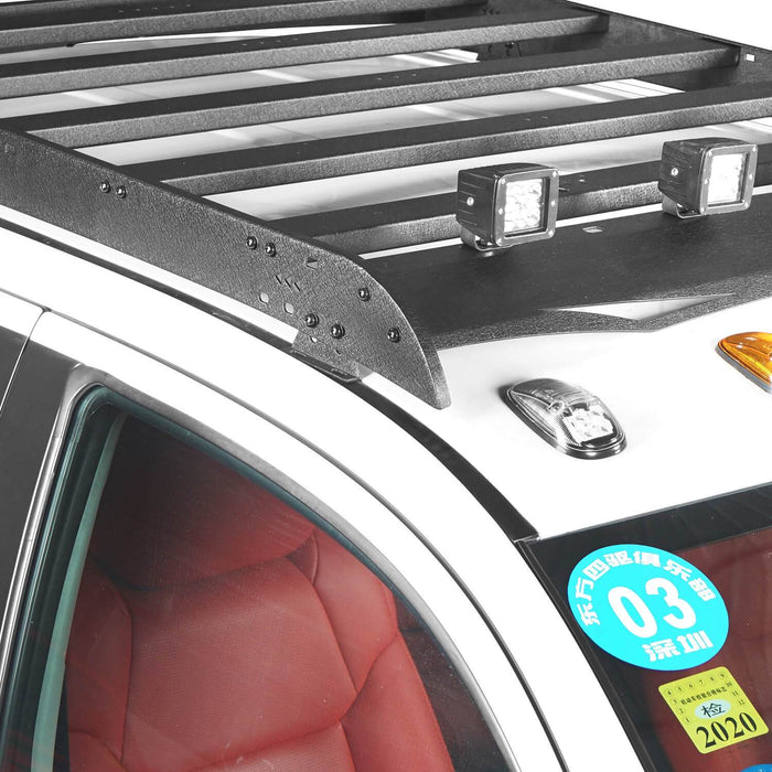 U-box Truck Toyota Tundra Crewmax Roof Rack Cargo Carrier for 2014-2019 Toyota Tundra BXG605 u-Box Offroad 4