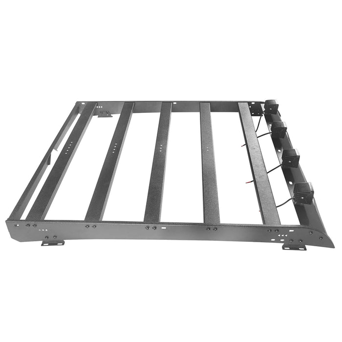 U-box Truck Toyota Tundra Crewmax Roof Rack Cargo Carrier for 2014-2019 Toyota Tundra BXG605 u-Box Offroad 7