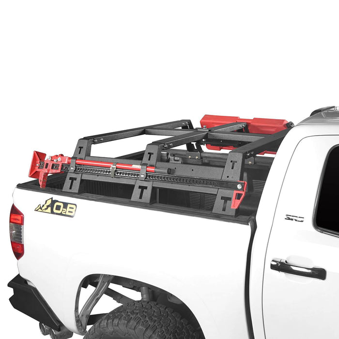 "u-Box Trucks 2014-2019 Toyota Tundra MAX 13"" High Bed Rack Toyota Tundra Parts u-Box offroad 3"