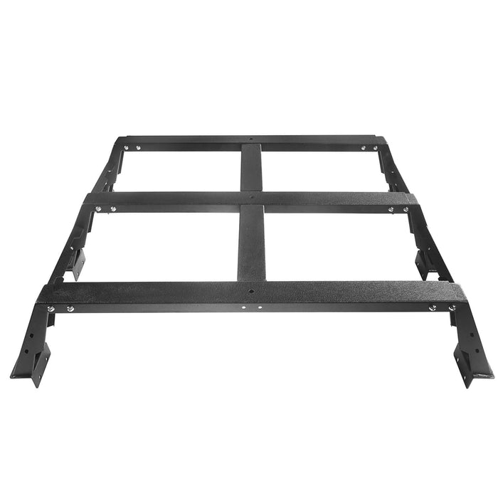 "u-Box Trucks 2014-2019 Toyota Tundra MAX 13"" High Bed Rack Toyota Tundra Parts u-Box offroad 7"