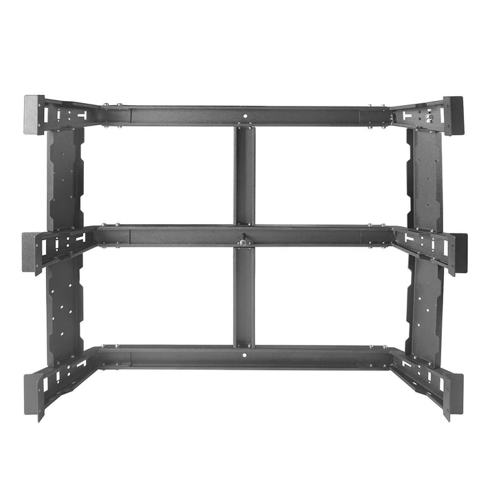 "u-Box Trucks 2014-2019 Toyota Tundra MAX 13"" High Bed Rack Toyota Tundra Parts u-Box offroad 9"