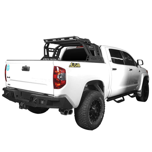 U-box Trucks Toyota Tundra Roll Bar Bed Rack for 2014-2019 Toyota Tundra BXG607 u-Box Offroad 2