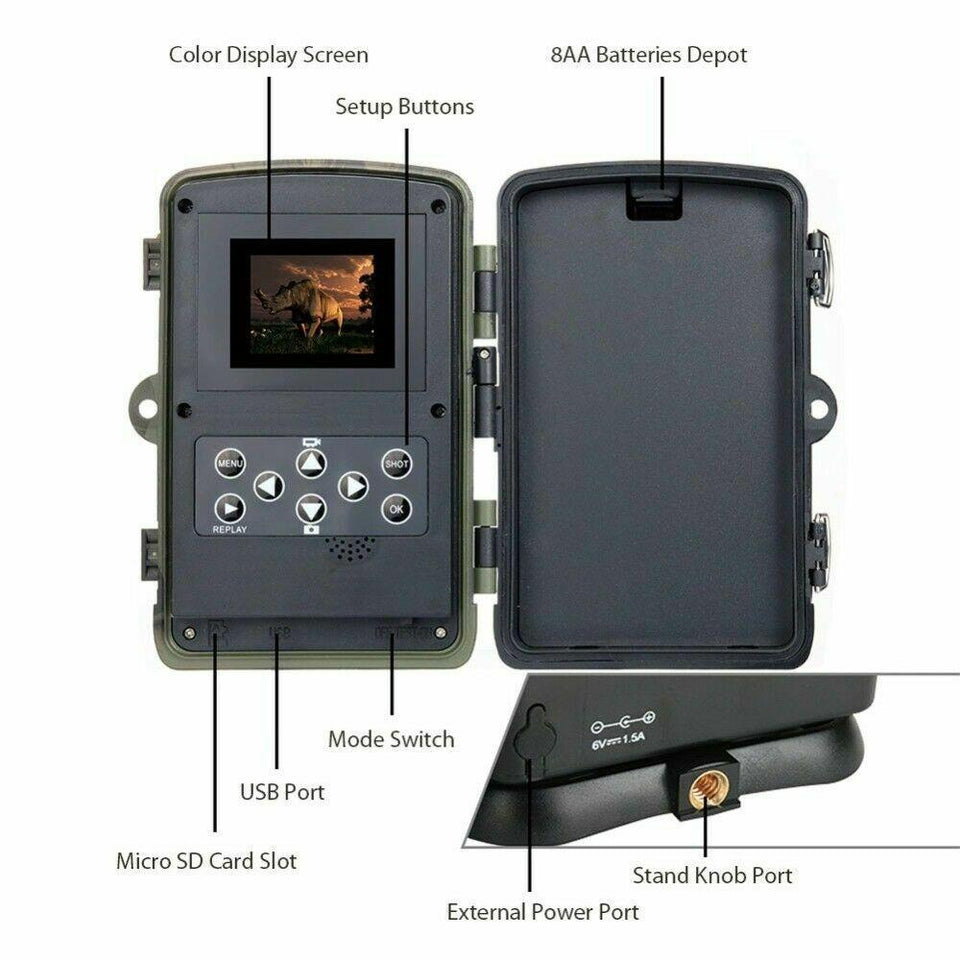 Wild Optics™ Wireless 4G LTE Trail Camera