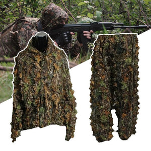 Camouflage Ghillie Full Body Hunting Suit