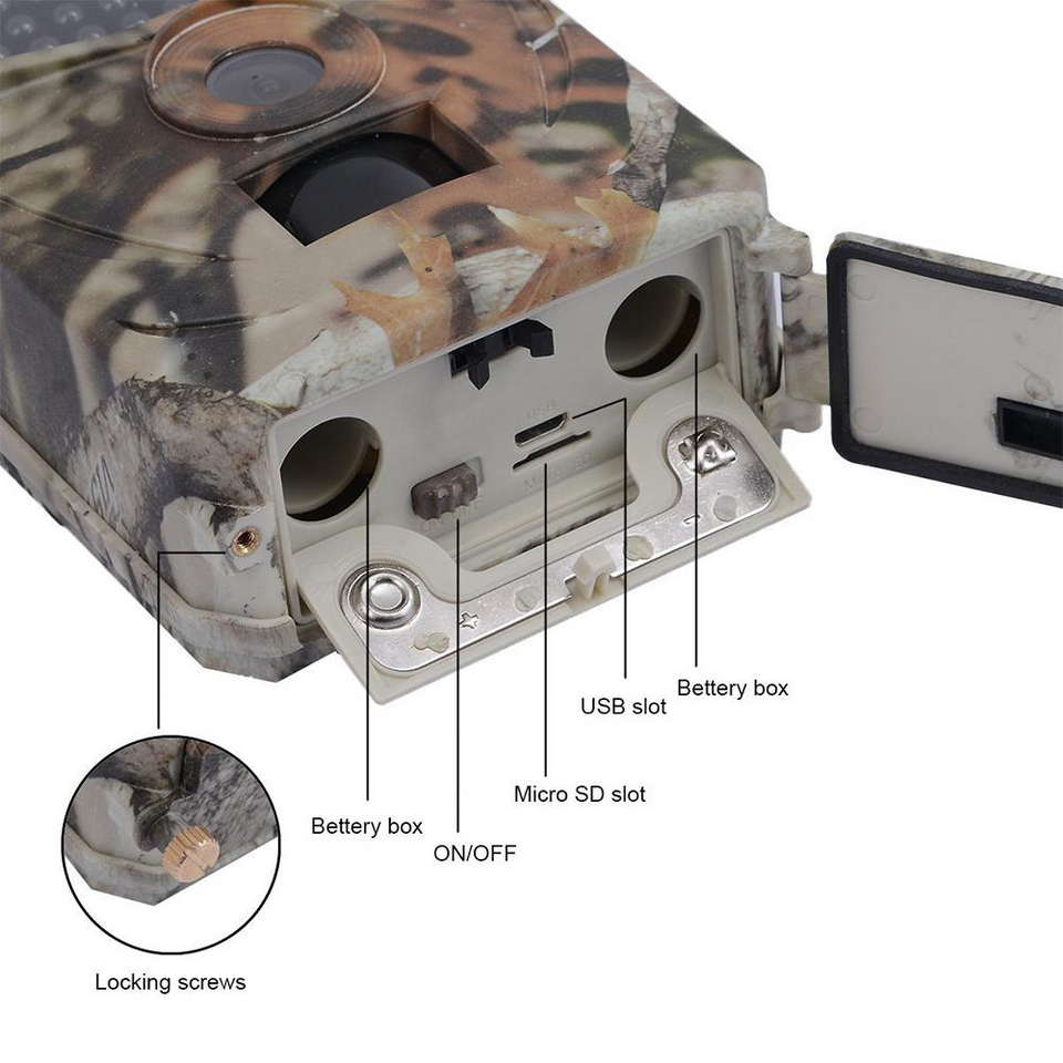 Wild Optics™ Game Trail Camera