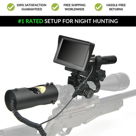 Wild Optics™ GEN 2.0 NightHawk - With Video Recording
