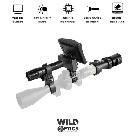 Wild Optics™ Night Vision Scope Setup