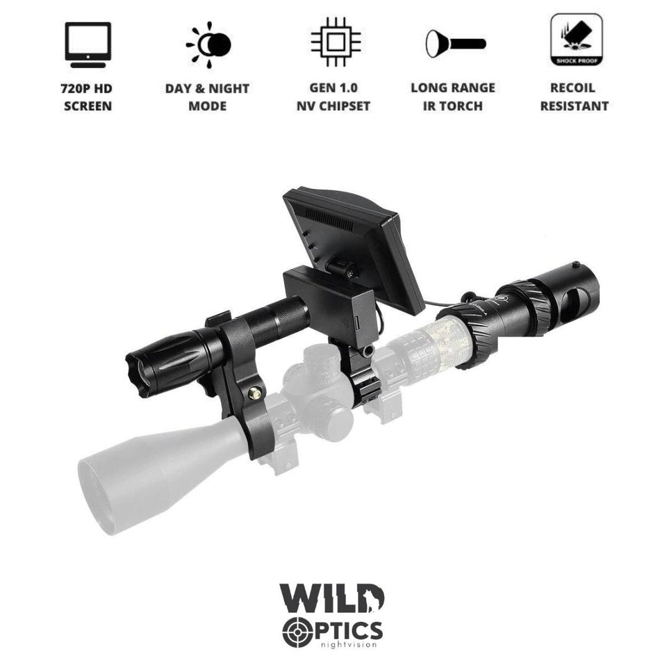 Wild Optics™ Night Vision IR Camera Scope