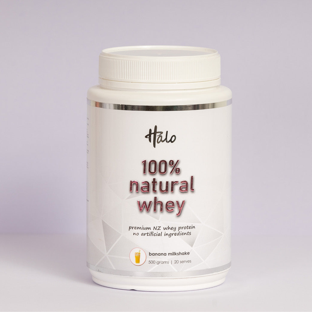 Halo 100% Natural Whey Protein 500g