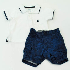 The Children's Place Polo with babyGap Shorts ~ Gently-Used