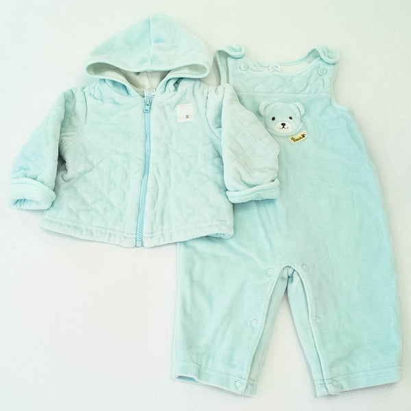 Hoodie with Overalls | babyGap | Gently-Used | Both are lined