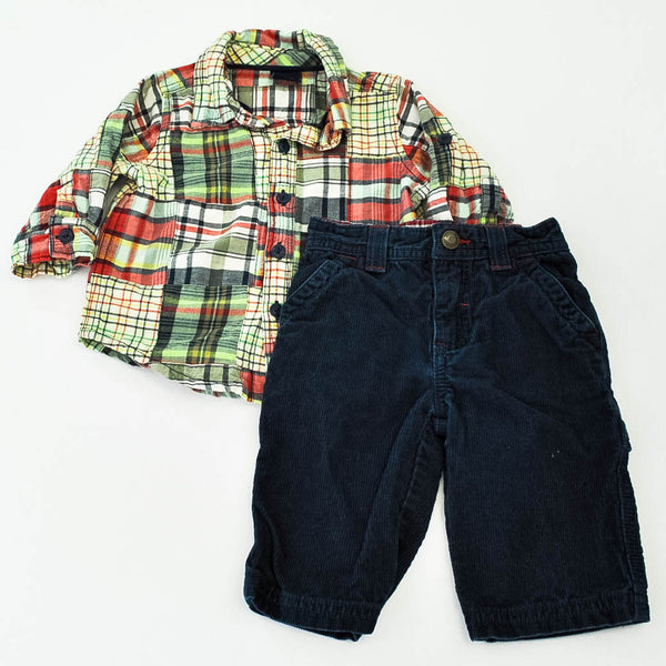babyGap Top with Sonoma Pants ~ Gently-Used ~