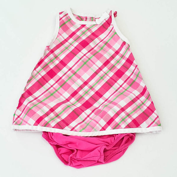 Dress | Gymboree | Gently-Used | Diaper Cover Included