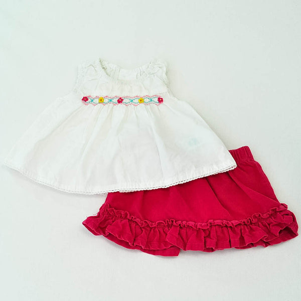 The Children's Place Shirt with Old Navy Skirt ~ Gently-Used ~