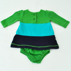 Dress | Baby Gap | Gently-Used | Diaper Cover Included, Back of Dress Shown