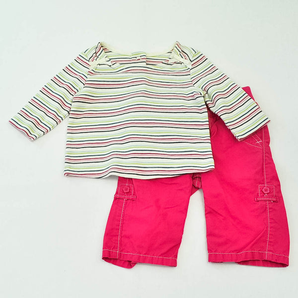 Gymboree Shirt with babyGap Pants ~ Gently-Used ~