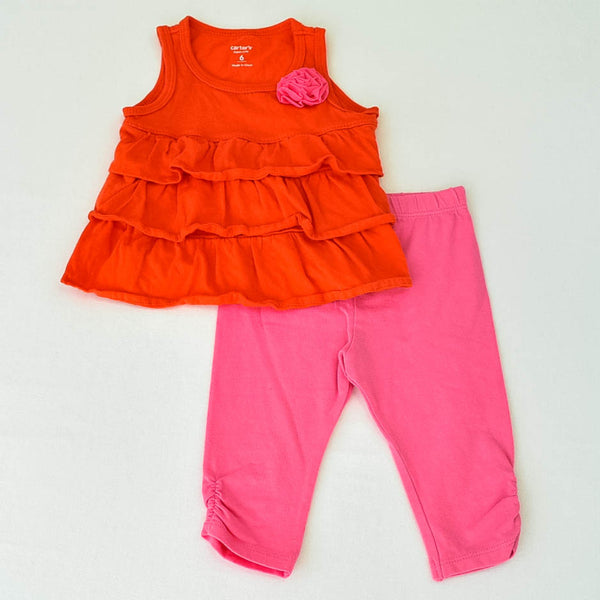 Carter's Shirt with Circo Leggings ~ Gently-Used