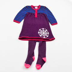 Sweater Dress with Tights | Children's Place | Gently-Used  |