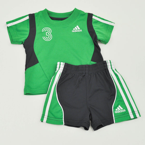 Tee with Casual Shorts | Adidas | Gently-Used |