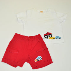 Casual Shorts with Tee | Gymboree | Like-New |
