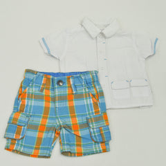 Truly Scrumptious Shorts with The Children's Place Top ~ New-with-Tag with Gently-Used ~
