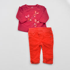 Gymboree Shirt with Baby Gap Jeans ~ Gently-Used ~