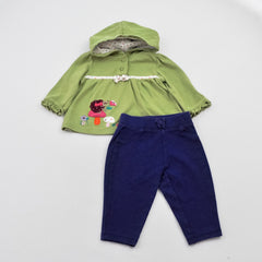 Gymboree Hoodie with  Carter's Pants ~ Gently-Used ~
