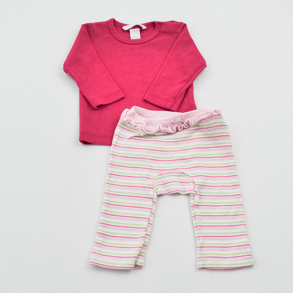 H&M Shirt with Gymboree Pants ~ Gently-Used ~