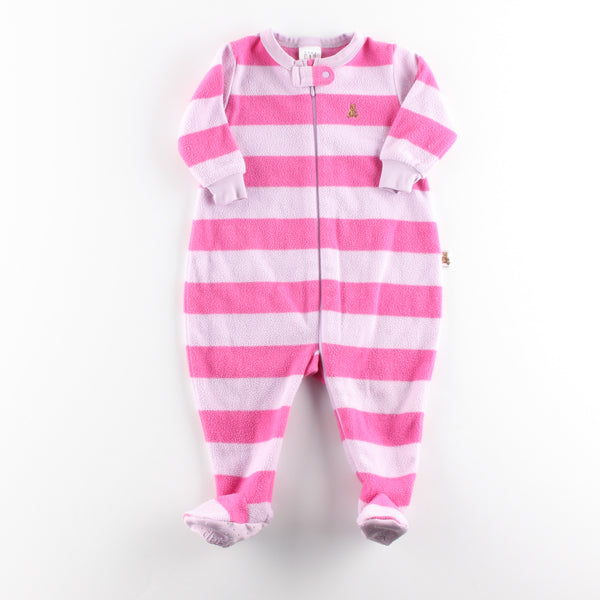 babyGap Sleeper ~ Like New ~ Fleece, Little pilling