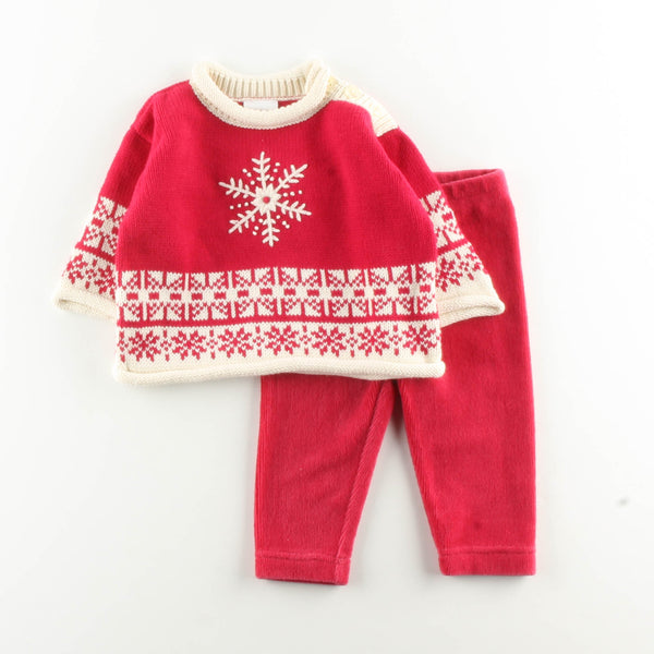 Hanna Andersson Sweater with Gymboree Pants ~ Like New ~ Size 50, Dry Clean Only