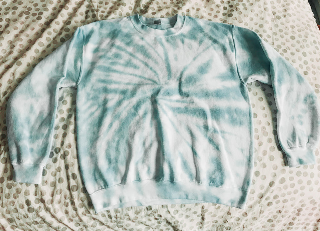 Custom Tie Dyed Sweatshirt