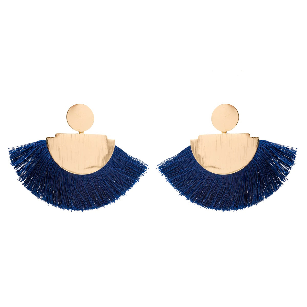 Exquisite Gold-tone Soft Tassel - Kiyara