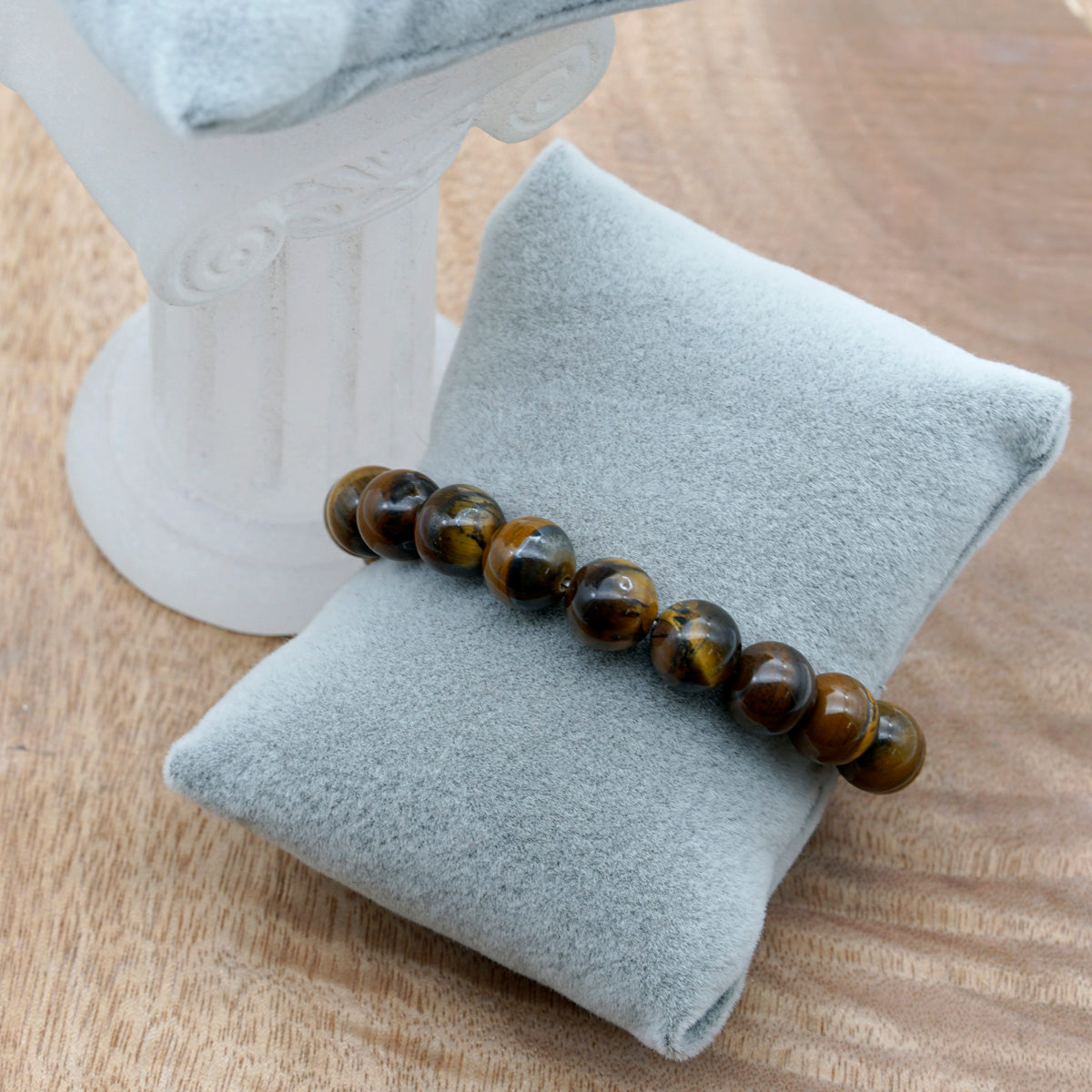 Original Tiger Eye Beads Bracelet - Kiyara