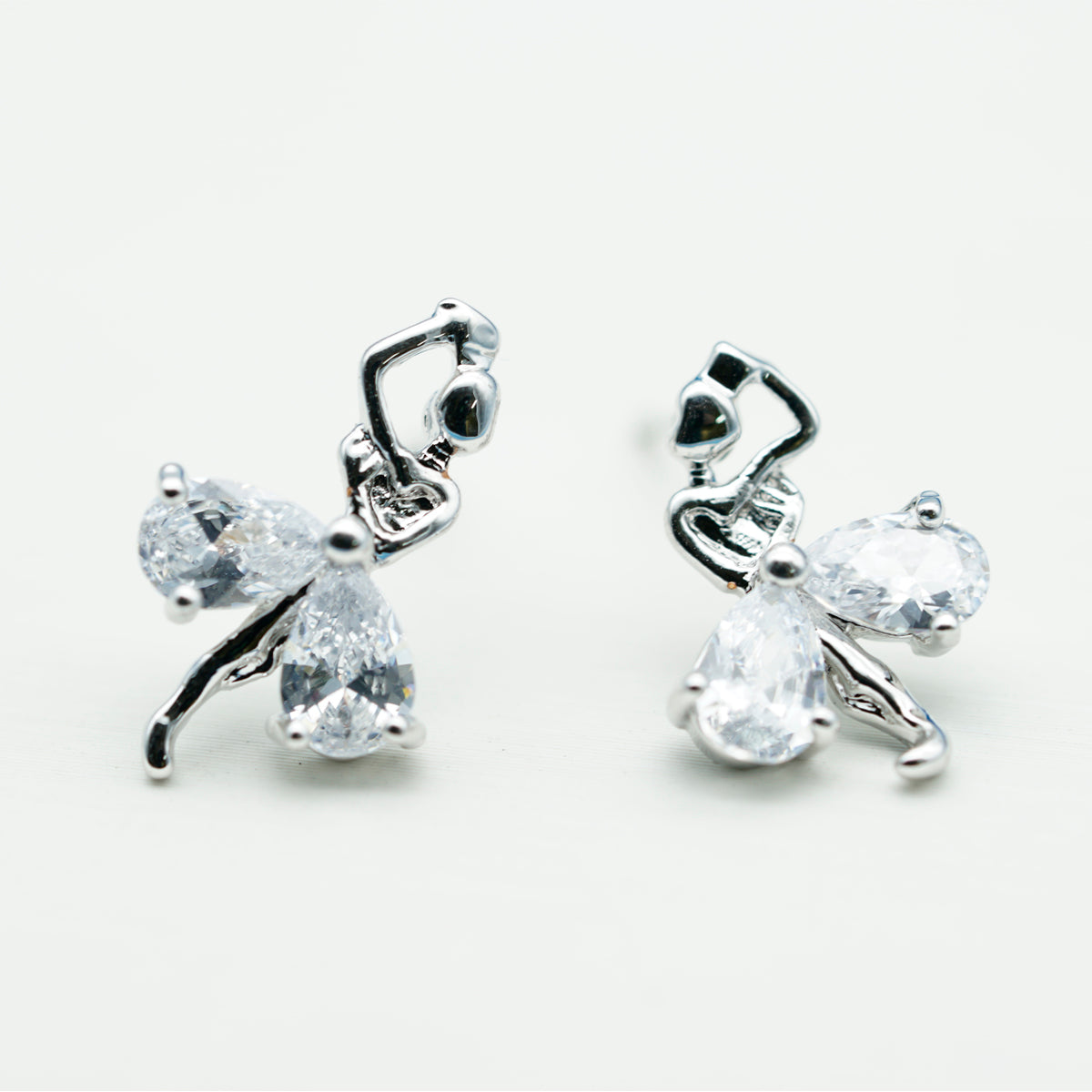 Swarovski Dancing Girl Drop Earrings - Kiyara