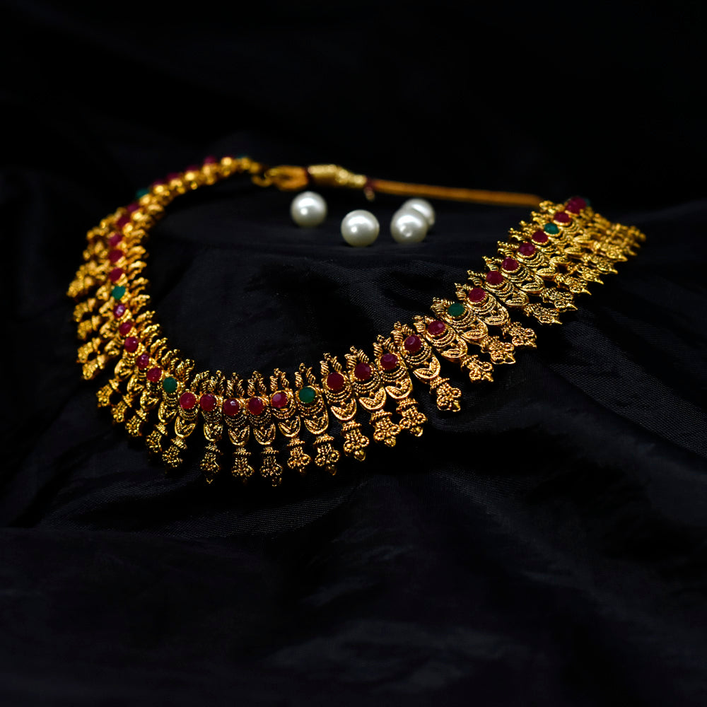 Tribe-Vibe Necklace - Kiyara