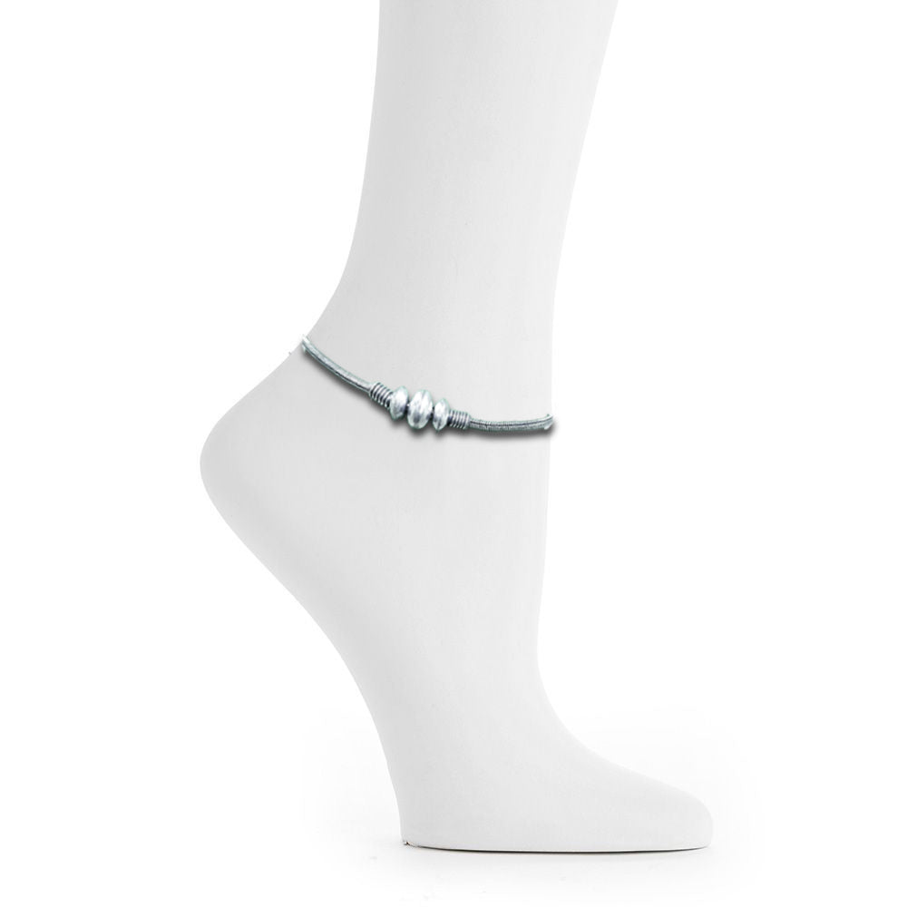 Exclusive Pure Silver Anklet - Kiyara