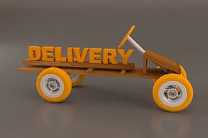 $5.00 Delivery Charge  for 15 to 25 Mile Radius
