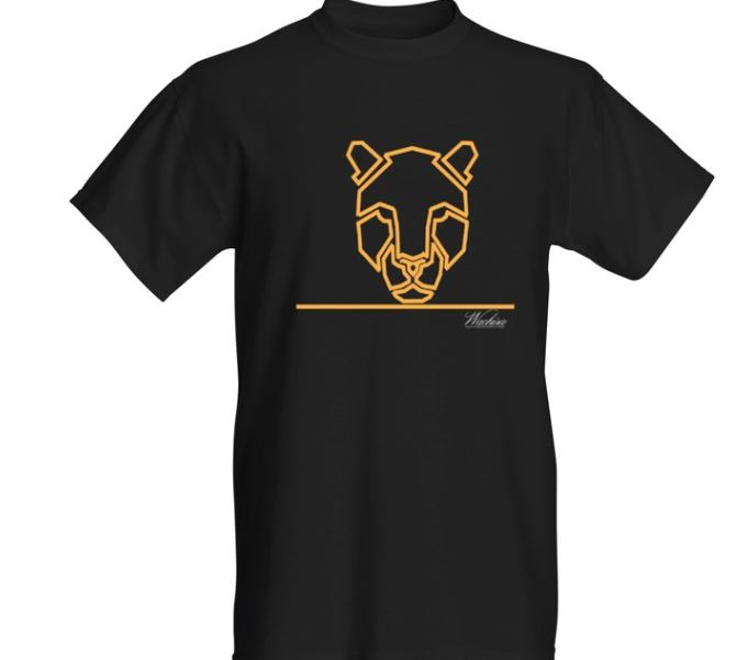 Men Wachira Leopard Short Sleeved T-shirt