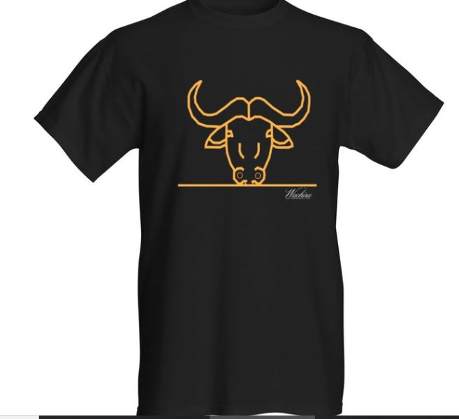 Men Wachira Buffalo Short Sleeved T-shirt