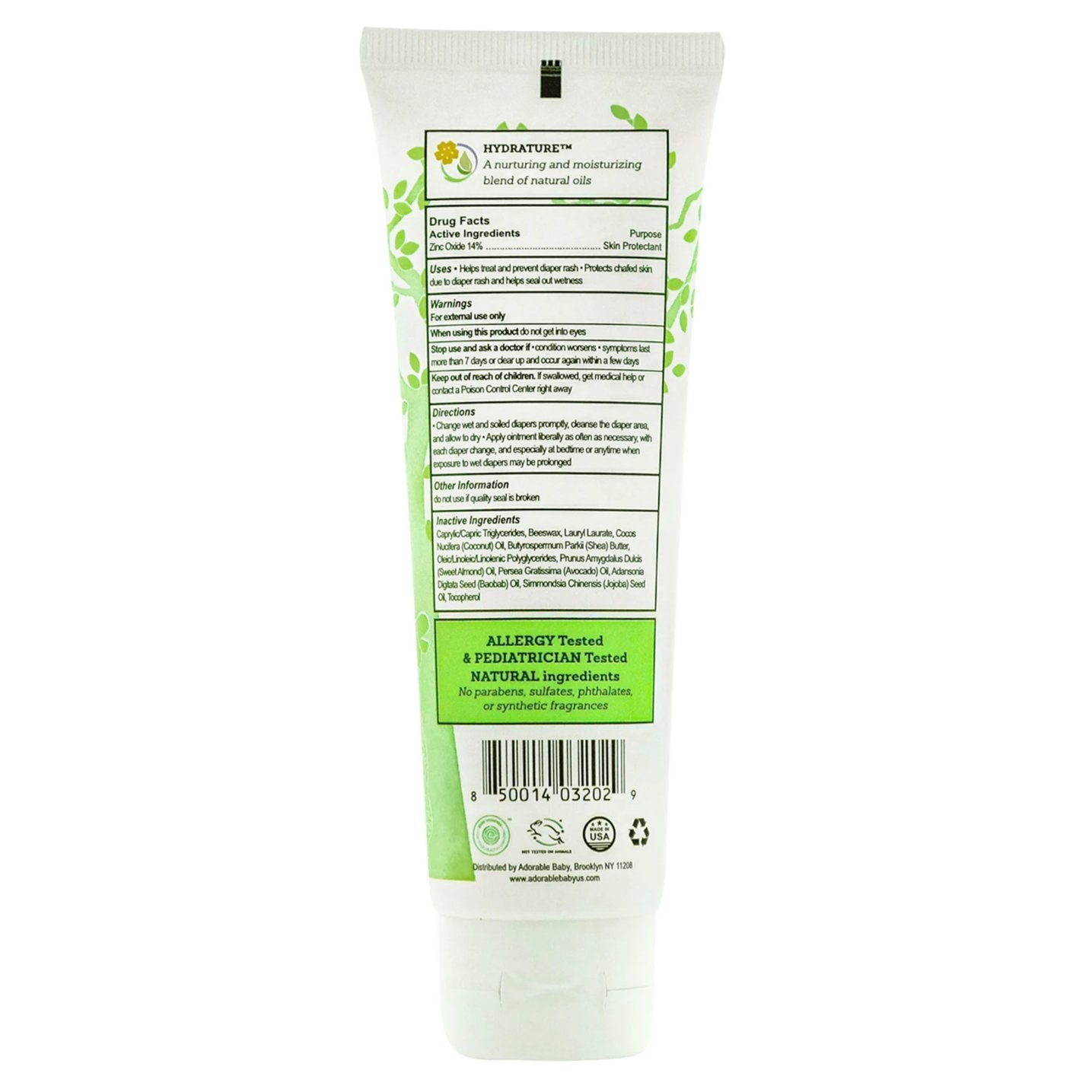 Natural Diaper Rash Ointment