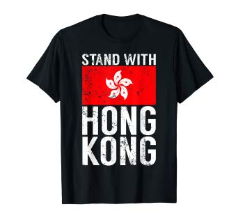 Stand With Hong Kong Flag Democracy T-Shirt