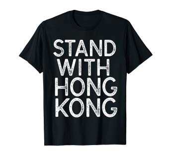 Stand With Hong Kong Pro Democracy T-Shirt
