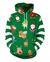 Christmas Santa And Gift Print Pullover Hoodie