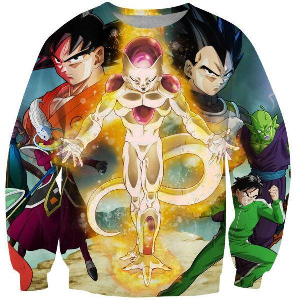 Dragon Ball Z Resurrection F Return of Frieza Sweatshirt