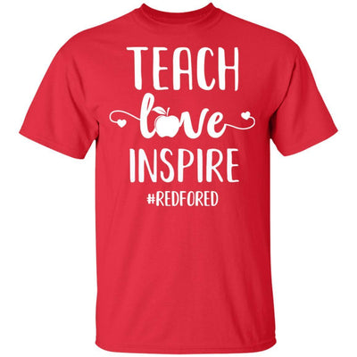Teach Love Inspire Red For Ed