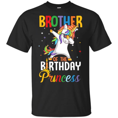 Brother Of The Birthday Girl Dabbing Unicorn Party